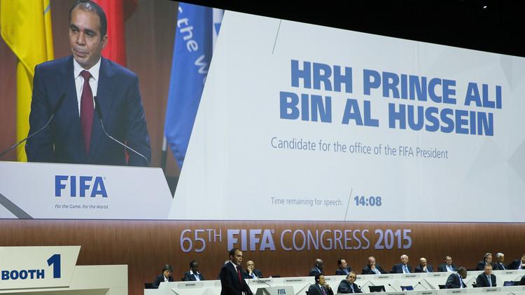 الأمير علي: اليوم نتطلع لاتخاذ قرار بالتغيير في الفيفا