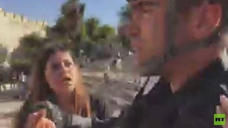 شبكة RT ما زالت تنتظر ردا من الشرطة الإسرائيلية حول الاعتداء على موظفيها