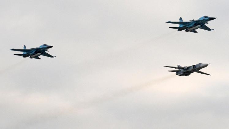 مقاتلات روسية تجبر مدمرة أمريكية على مغادرة مياه روسيا الإقليمية في البحر الأسود (فيديو)