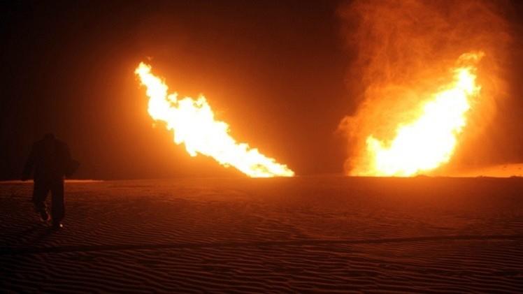 مصر.. تفجير خط الغاز الرئيسي في العريش ومقتل 3 مسلحين