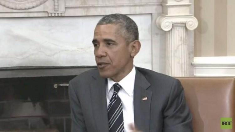 أوباما يدعو الناتو إلى التعاون ضد