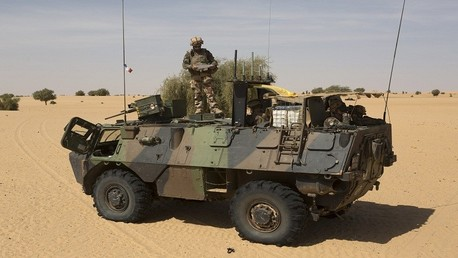 جندي من القوات الفرنسية