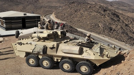 عناصر من الجيش السعودي
