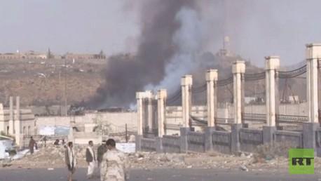 استمرار قصف التحالف العربي لليمن