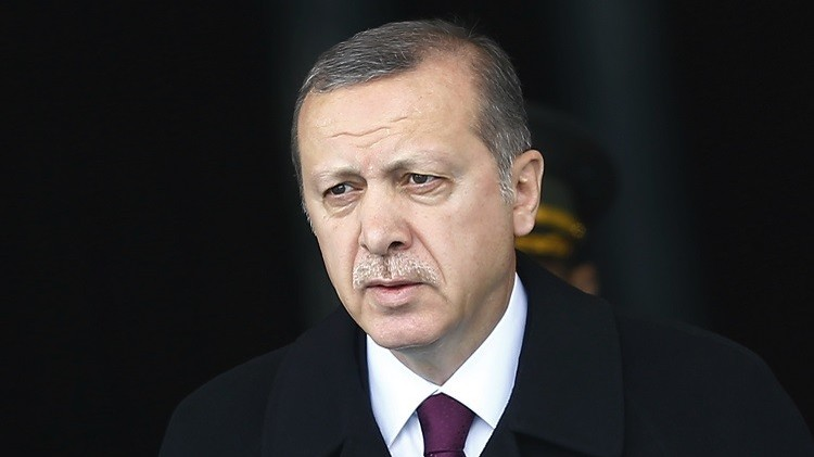أردوغان يصف تسريب معلومات عن توريدات أسلحة لسوريا بالعمل التجسسي (فيديو)