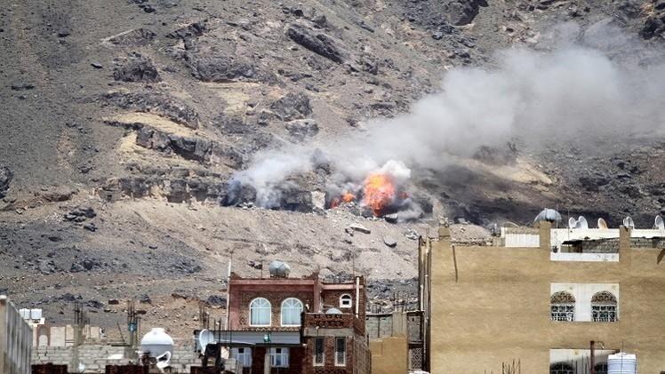 اليمن.. التحالف يشن 3 غارات على مواقع الدفاع الجوي بجبل عيبان