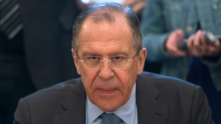 لافروف: لا نعارض قصف التحالف لداعش في سوريا