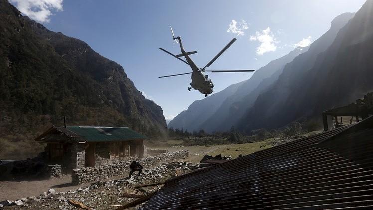4 قتلى في تحطم مروحية إغاثة في نيبال
