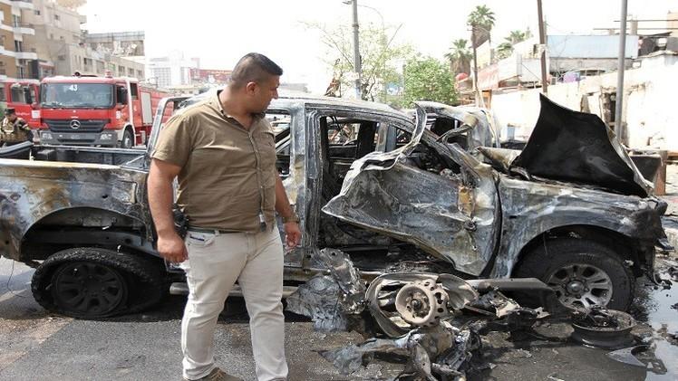 مقتل 6 أشخاص في انفجار سيارة مفخخة شرقي بغداد