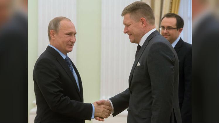 بوتين: لدى روسيا وسلوفاكيا مشاريع مشتركة جيدة