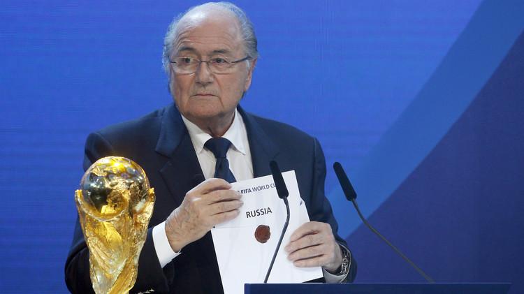 استقالة بلاتر لن تؤثر على استضافة روسيا لمونديال 2018