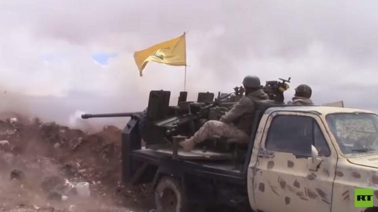 حزب الله يعلن سيطرته على تلال شرقي عرسال