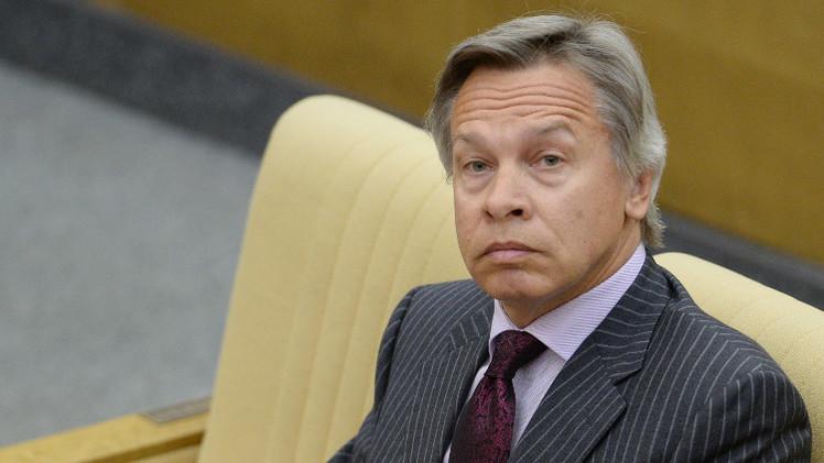 بوشكوف: تصعيد قصف دونباس مرتبط بقرب موعد تقرير مصير العقوبات الأوروبية على روسيا
