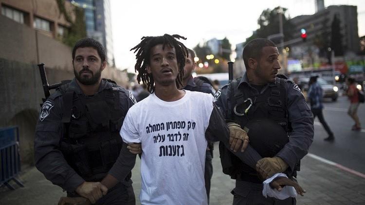 إثيوبيو إسرائيل يحتجون على العنف والعنصرية