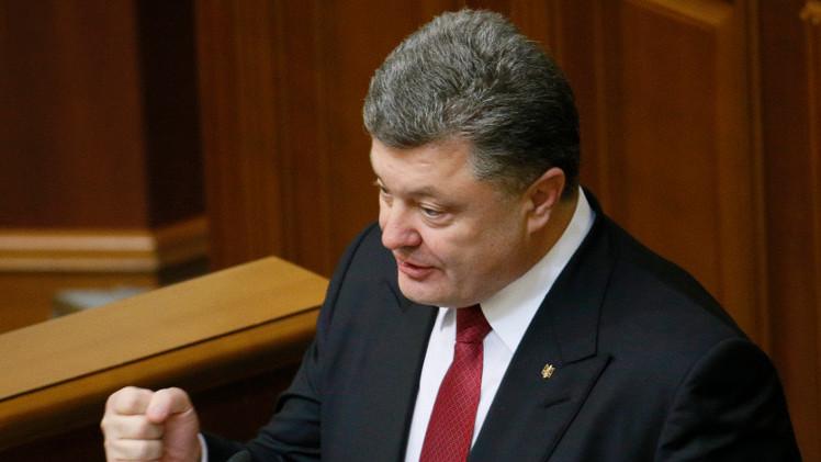 بوروشينكو: الأمن الأوكراني سيكون متطابقا بالكامل مع معايير الناتو
