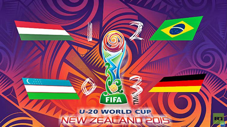 (فيديو) البرازيل وألمانيا إلى الدور الثاني في مونديال الشباب