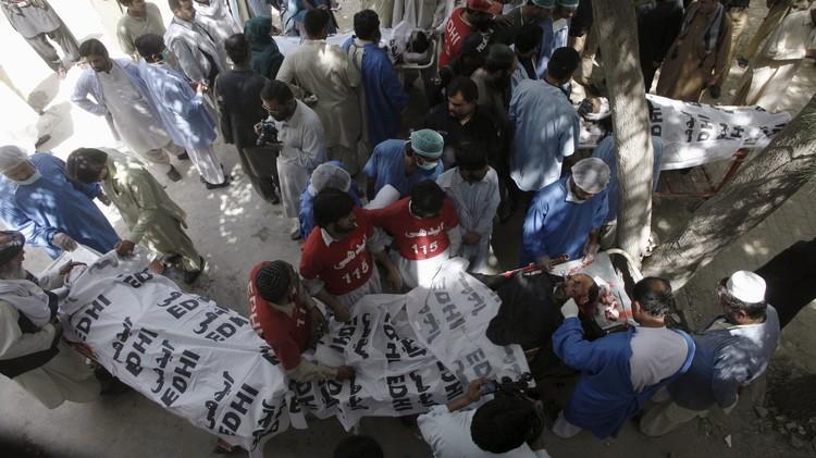 مقتل 4 من رجال الشرطة في هجوم مسلح جنوب غرب باكستان