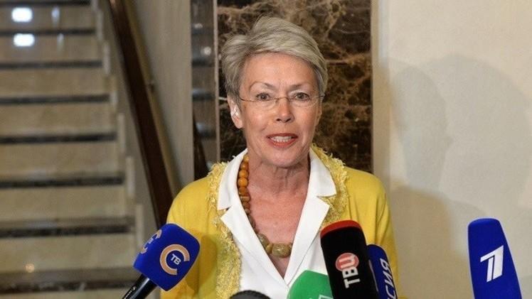 استقالة الممثلة الخاصة لمنظمة الأمن والتعاون الأوروبي في أوكرانيا
