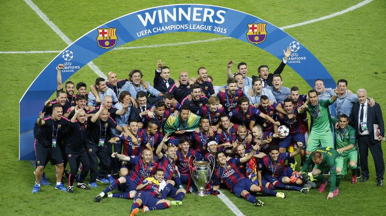 برشلونة يتوج بلقب بطل دوري أبطال أوروبا بفوزه على يوفنتوس  .. (صور)