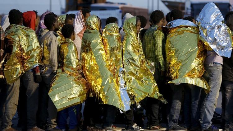 إنقاذ أكثر من 2000 مهاجر في البحر المتوسط قبالة الساحل الليبي