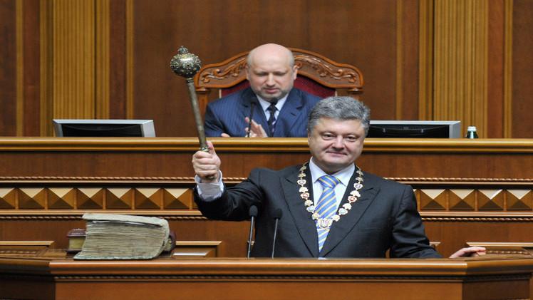 عام على حكم بوروشينكو.. استمرار الأزمة وانهيار الاقتصاد