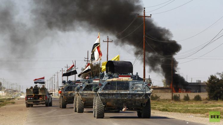 مقتل 11 جنديا بانفجار في مستودع للأسلحة في بغداد والقوات العراقية تطرد