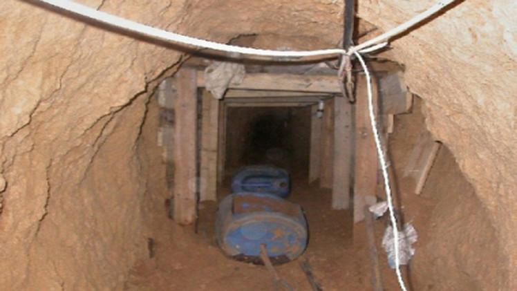 7 مفقودين في انهيار نفق غربي غزة قرب الحدود مع مصر