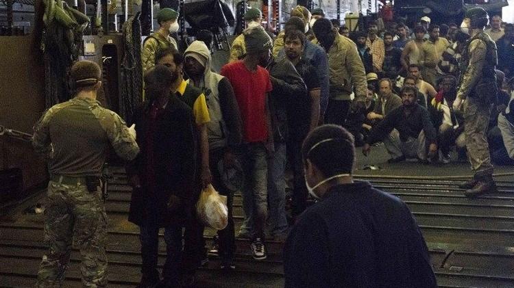 وصول 50 ألف مهاجر إلى إيطاليا منذ بداية عام 2015