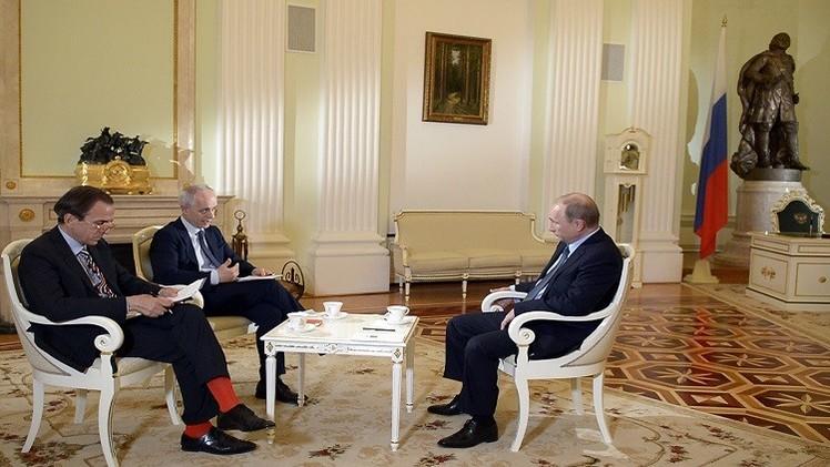 بوتين: السوق الروسية تعتبر سوقا جيدة للمنتجات الأوكرانية