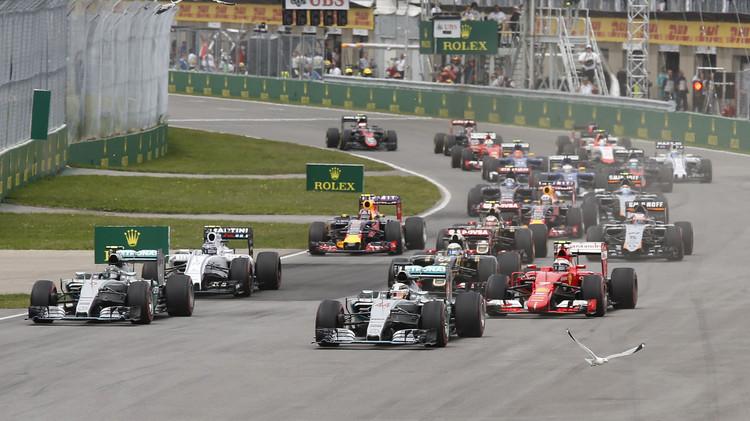 هاميلتون يتوج بلقب بطل سباق كندا للفورمولا 1
