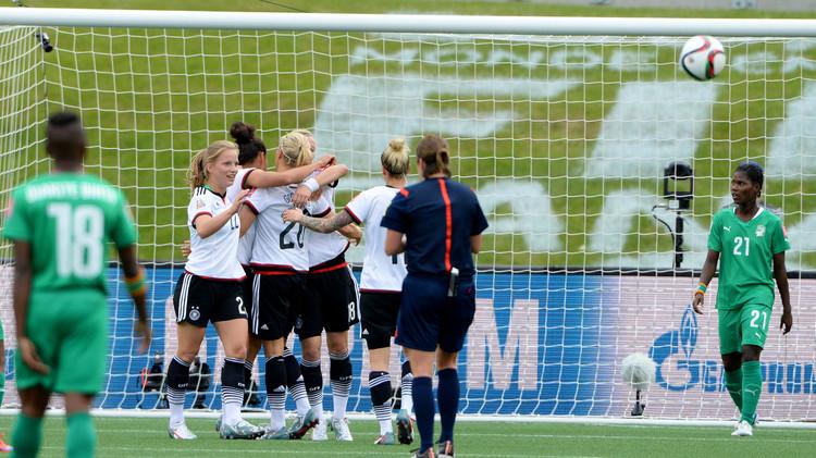 ألمانيا تمطر شباك كوت ديفوار بـ 10 أهداف في مونديال السيدات .. (فيديو)
