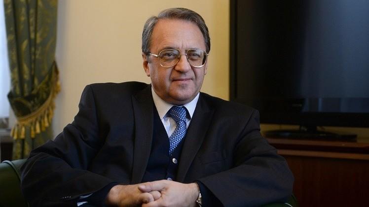 نائب وزير الخارجية الروسي يبحث مع مفتي سوريا تسوية الأزمة في البلاد