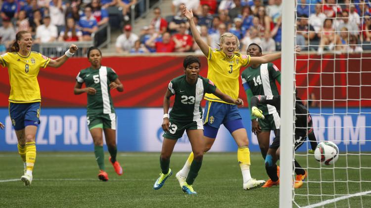 السويد تقع في فخ التعادل أمام نيجيريا في مونديال السيدات .. (فيديو)