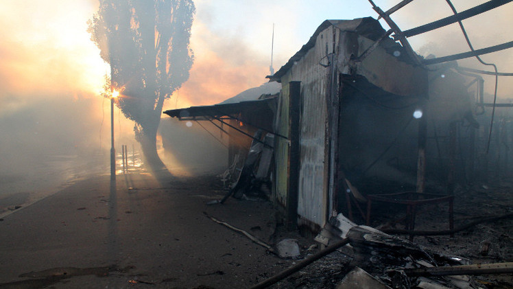 مقتل امرأة في قصف القوات الأوكرانية لدونيتسك