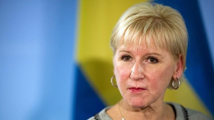 وزيرة خارجية السويد: السعودية تستخدم أساليب القرون الوسطى