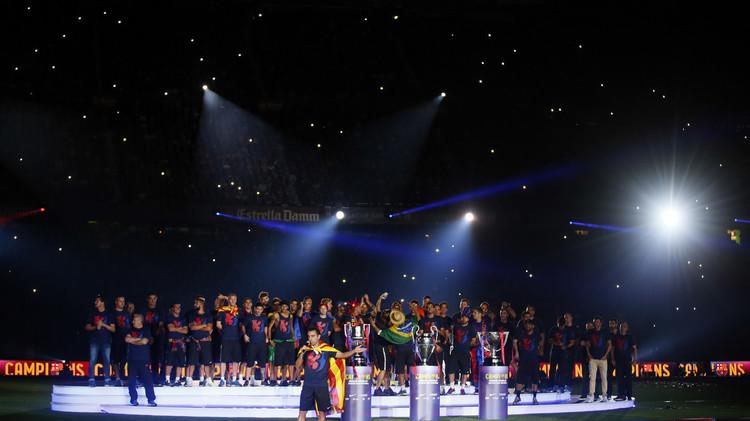 برشلونة يهيمن على قائمة المرشحين لأفضل تشكيلة للتشامبيونز ليغ .. (صور)