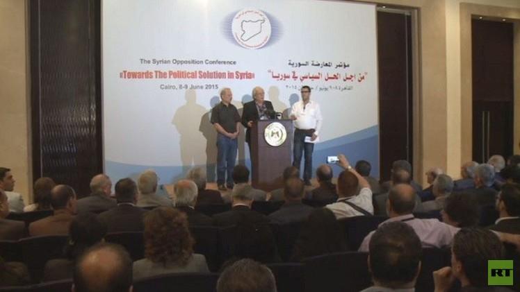 مؤتمر القاهرة.. المعارضون السوريون يتفقون على خارطة طريق لحل سياسي تفاوضي