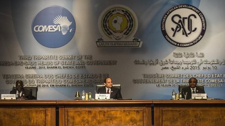 دول إفريقية توقع في شرم الشيخ اتفاقية للتجارة الحرة