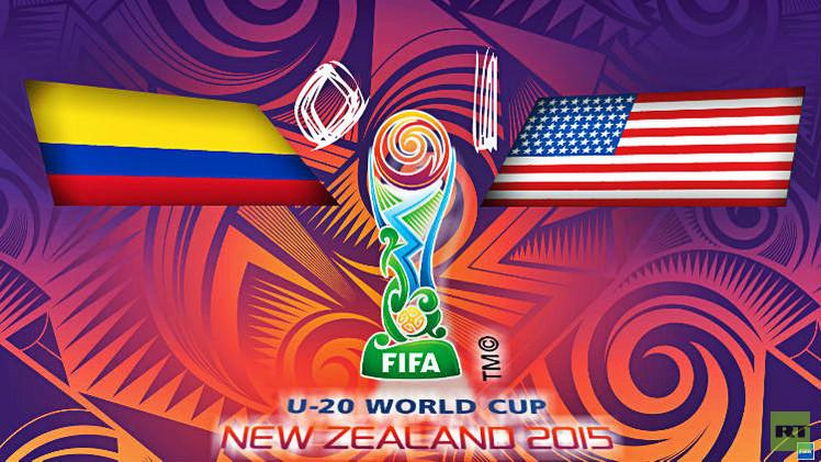 أمريكا إلى ربع نهائي كأس العالم للشباب على حساب كولومبيا