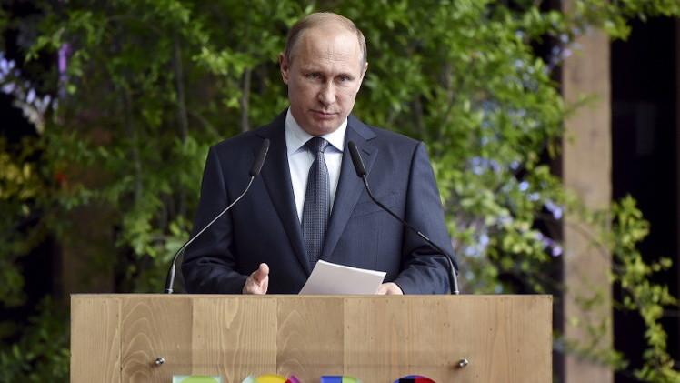 بوتين: كافة عناصر تسوية الأزمة الأوكرانية حاضرة في اتفاقات مينسك