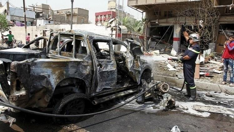 بغداد.. مقتل 6 وجرح 15 إثر هجوم انتحاري