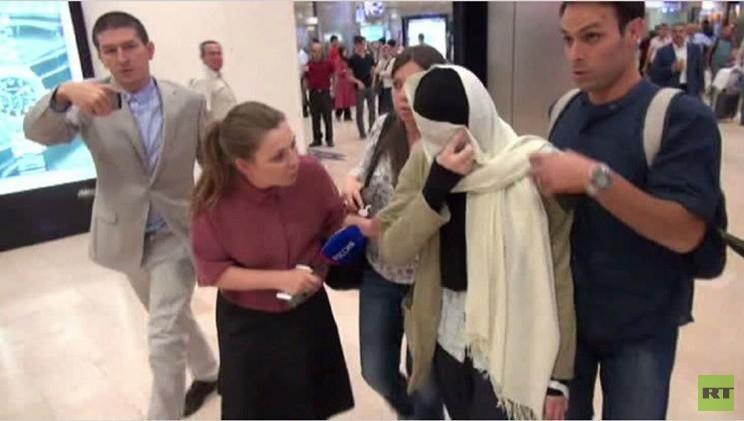شابة روسية حاولت الانضمام لـ