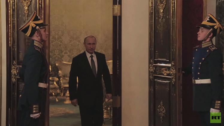 شاهدوا على قناة RT العربية.. فيلما عن فلاديمير بوتين في الحكم