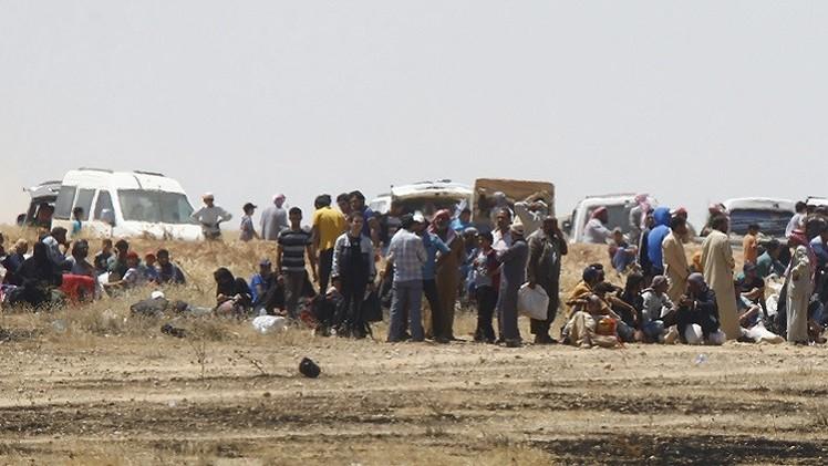 تركيا بصدد إغلاق حدودها مؤقتا أمام اللاجئين