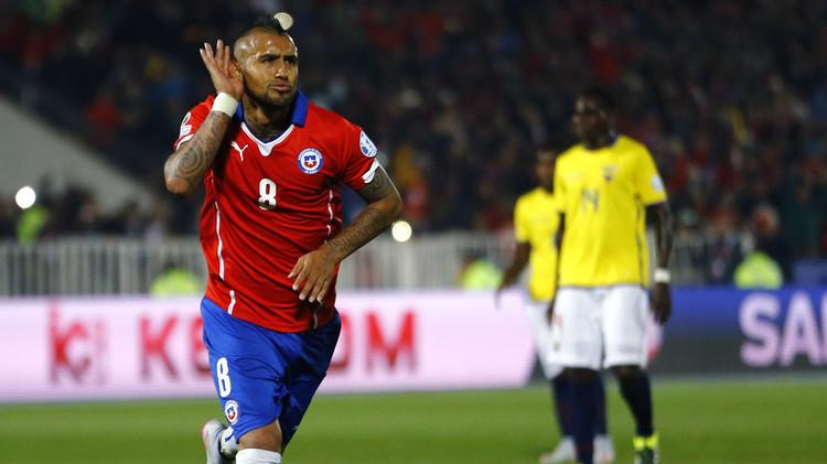 (فيديو) تشيلي تبدأ كوبا أمريكا بفوز مستحق على الإكوادور