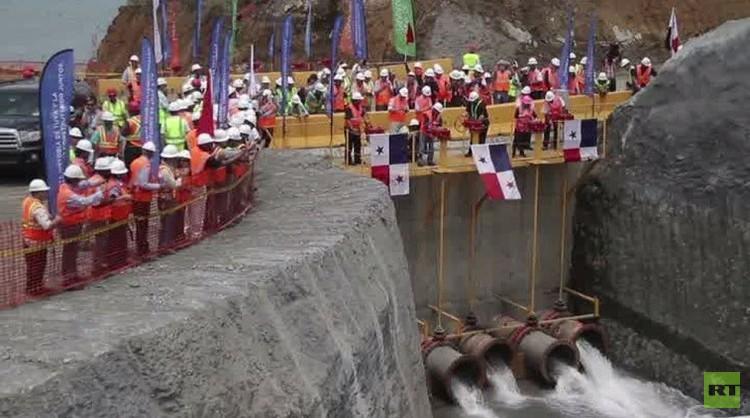 اختبارات أولية في إطار مشروع توسيع قناة بنما