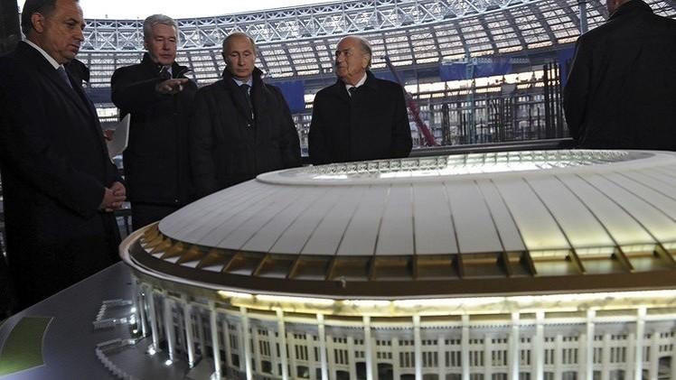 بناء منشآت مونديال روسيا يجري بوتائر جيدة