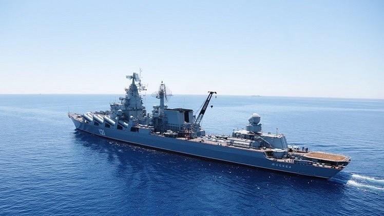 أسطول البحر الأسود: انتهاء المرحلة البحرية للتدريبات الروسية المصرية