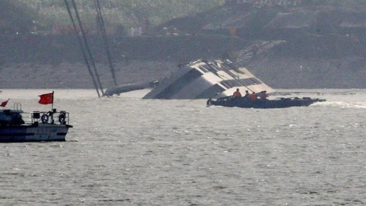 ارتفاع حصيلة ضحايا غرق السفينة في الصين إلى 442 شخصا