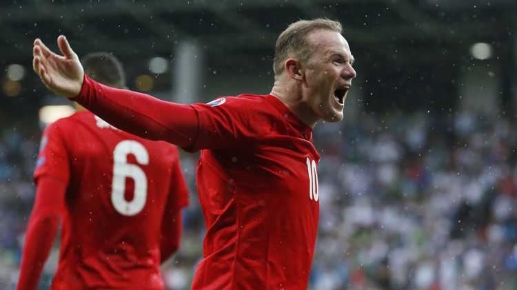 روني ينقذ إنكلترا من براثن سلوفينيا في تصفيات يورو 2016